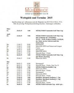 Wettspielkalender
